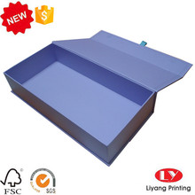 Caixa de embalagem de presente de papelão de luxo com ímã