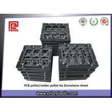 Folha preta de Durostone CAS761 para dispositivos elétricos de SMT