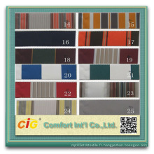 Tissu acrylique UV-Anti 100 imperméable à l'eau de haute qualité teint