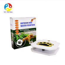 Pet water fountain for Dog Cat Automatic Non-Electric Water Pump Drinking Bowl(Little Flower)