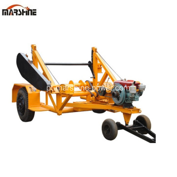 Reel Carrier Trailer Usado Cable Reel Trailer
