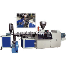 Máquina de granulado y granulador de PVC blando