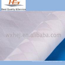 Tela al por mayor de alta calidad de la tela cruzada del Dobby del algodón del 100%