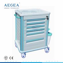 Профессиональный низкая фабрики moq для прямого АБС хирургической вагонетки пластичной больницы