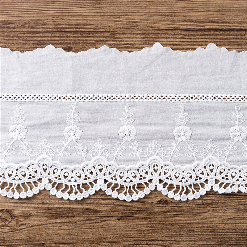 Cotton Embroidery Lace Sew