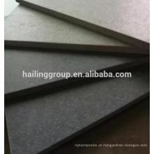 Placa de cimento de fibra de material de construção