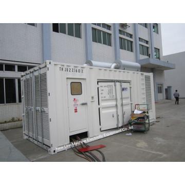 Genset CUMMINS diesel silencioso de 910kVA / Kta38-G2a