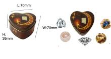 pandora gift box custom silver jewelry box