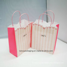 Clothing Paper Packaging Bag with Rope Handle