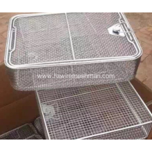 Wire Mesh Medical Storage Basket