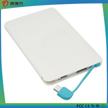 Promotion Gift Mobile Phone Ultra Slim Credit Card Power Bank 2600mAh