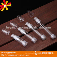 small and delicate pet bottle tube