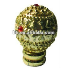 BHR-03 popular curtain hardware/ curtain accessory resin or wood curtain finials/curtain ends for home decor & window decor