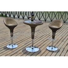 Высокий стул и высокий стол открытый бар набор мебели