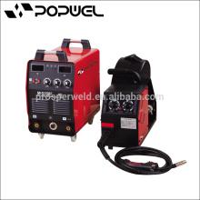 IGBT MIG CO2 Gas Escudo Máquinas de soldar, el control de modo de corriente Mig315