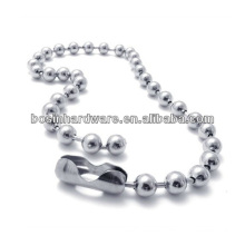 Fashion High Quality Metal Stainless Steel Ball Chain Necklace