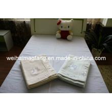 Manta de algodón de Color liso puro (NMQ-CB-006)