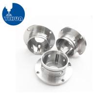 Conectores de brida de aluminio de torneado CNC