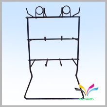 Professional Metal Wire cell phone accessories rack for display