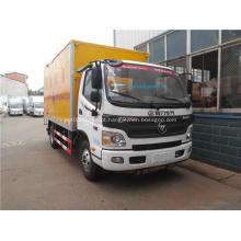 Venda foton caminhão de transporte de mercadorias perigosas