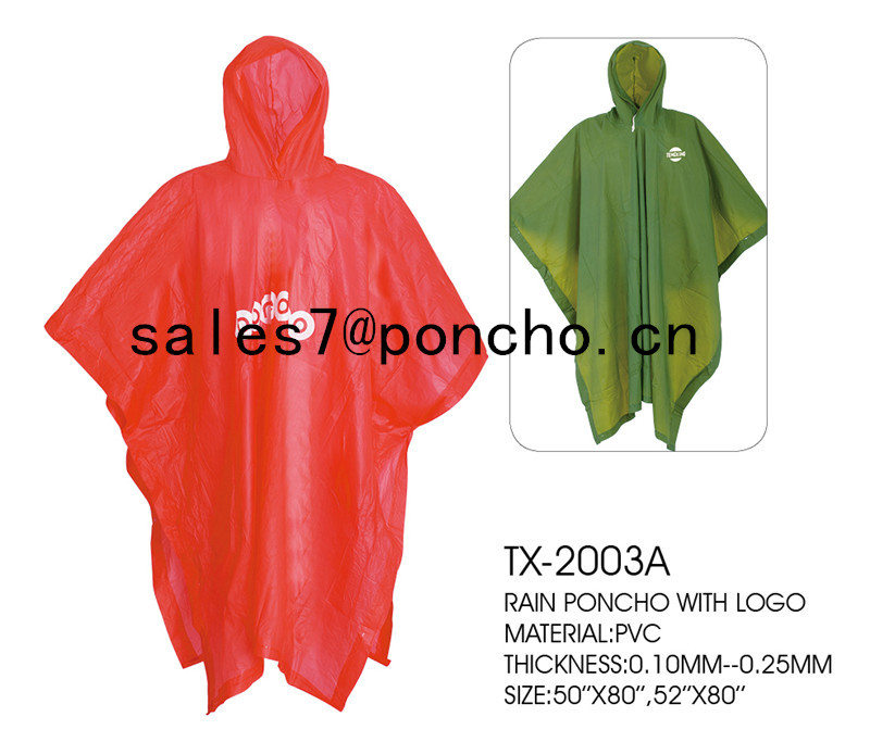 rain poncho for women