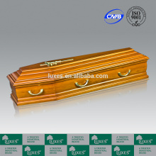 LUXES Wholesale Coofin European Style Funeral Coffins