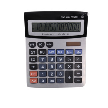 12 Digits Dual Power Office Desktop Calculator
