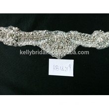 Alibaba wholesale crystal rhinestone beaded trim garment accessories DIY supplies