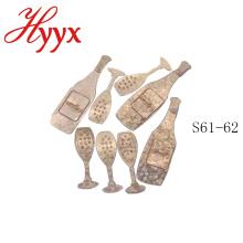 HYYX papel de tecido barato por atacado do casamento / decoração do casamento do metal