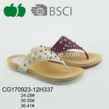 Hot Sale Lady Plastic Slipper