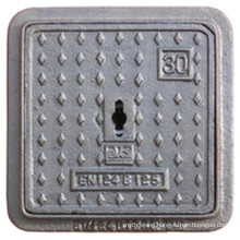 En124 B125 Ductile Iron Square Manhole Cover