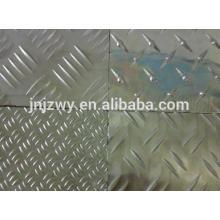 3003 3105 tablier en aluminium plaque prix feuille en aluminium gaufré Cookware bas prix utilisé dans les ustensiles de cuisine