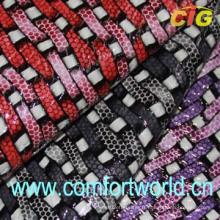 Pvc Luggage Leather (SAPV04206)