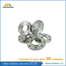 Aluminium ANSI B16.5 flange threaded