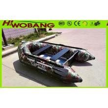 Modelos quentes Barco de salvamento inflável militar com CE