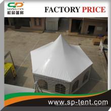 Hexagon Aluminium Pagode Zelt 4x8m für 30 Personen