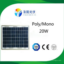 20W High Quality Solar Panel for Outdoor Lighting