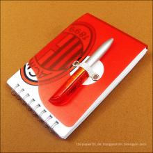 Hochwertiges Werbegeschenk Notebook Kraft