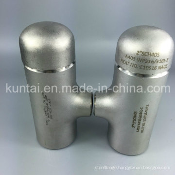 ANSI B16.9 Stainless Steel 304 316L Tee with Top Quality (KT0350)