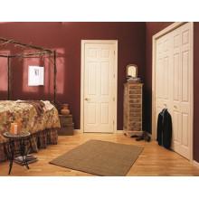 Estilo de la moda blanco Interior Swing moldeado puerta HDF