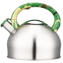 3.0L whistling Teakettle handle color painting decal