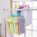 Cabide de lavanderia Roupas Dobráveis Secagem cabide Clothesline Pano Stand Sock Secador para Casa Ao Ar Livre E Interior