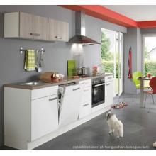 Forma simples lustrosos armários da cozinha do projeto (personalizado)