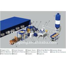 El producto superventas y competitivo del precio del ladrillo concreto concreto de Yugong QT-10-15 que hace la máquina