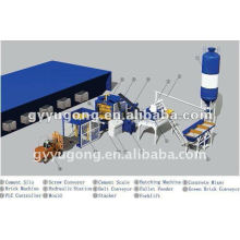 Produto de preço mais vendido e competitivo do tijolo de concreto automático Yugong QT-10-15 que faz a máquina