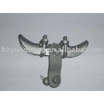 abrazadera de la suspensión / accesorios de la línea de la corriente eléctrica abrazadera del hardware abrazadera de la línea aérea