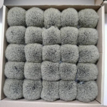 Bulb-shaped Best Badger Hair Shaving Brush Knot