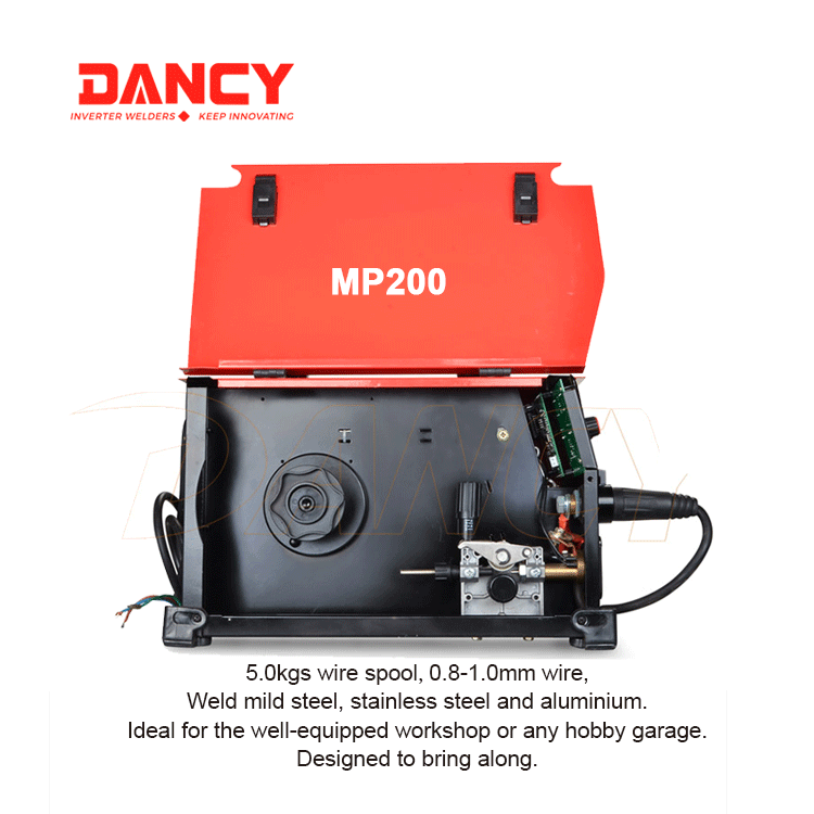 200Amp MIG welding machine with pulse function