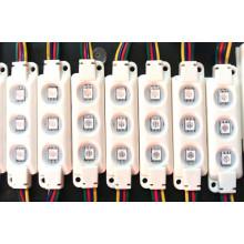 68*20mm RGB 3PCS 5050 LED Module Decorate Light
