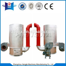 vertical hot-blast stove connect with drying machine